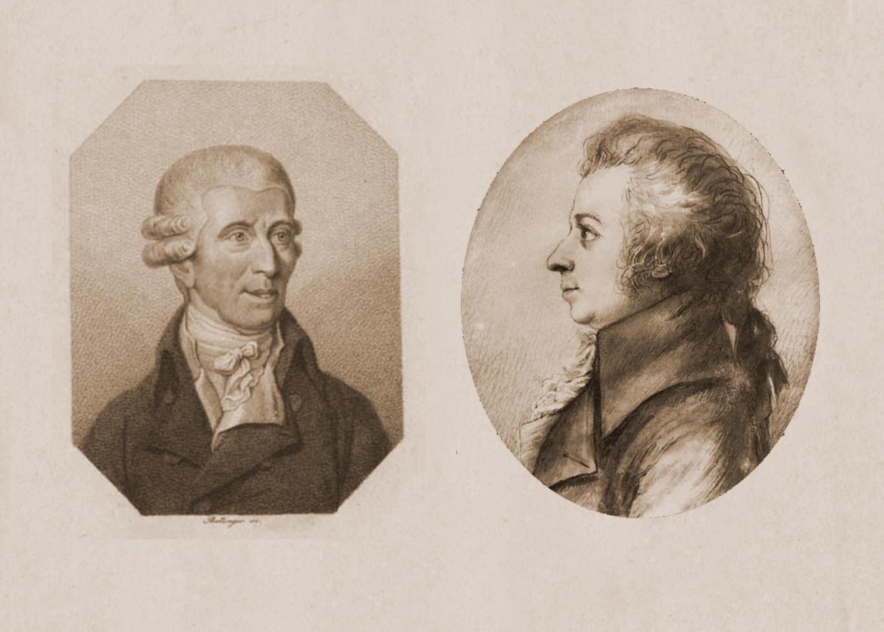 Гайдн и Моцарт